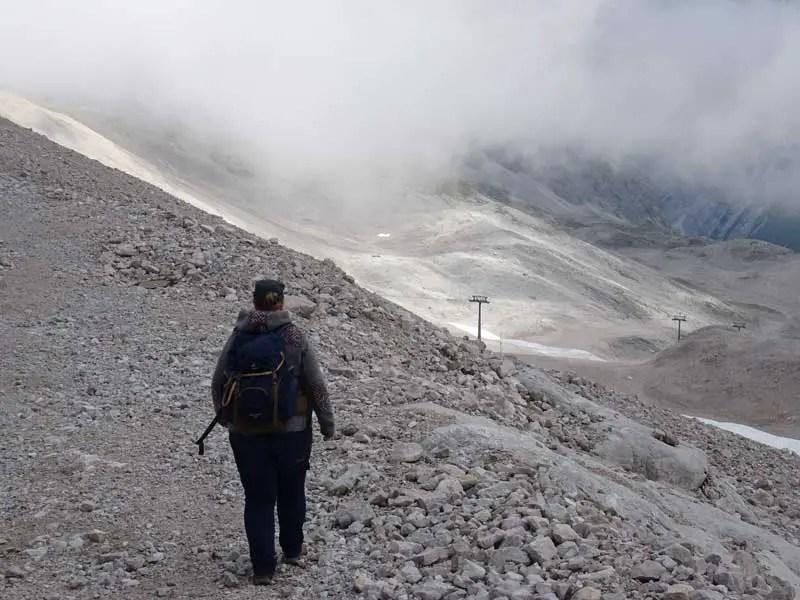 Wandern an der Zugspitze
