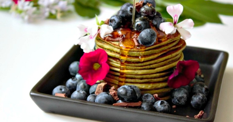 Dein Morning-Booster: Vegane Matcha Pancakes