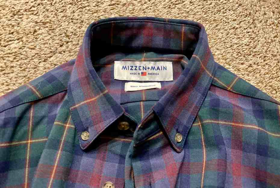 Mizzen + Main Flannel review 8