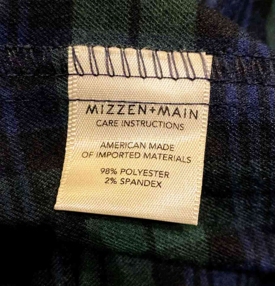 Mizzen + Main Flannel review 7