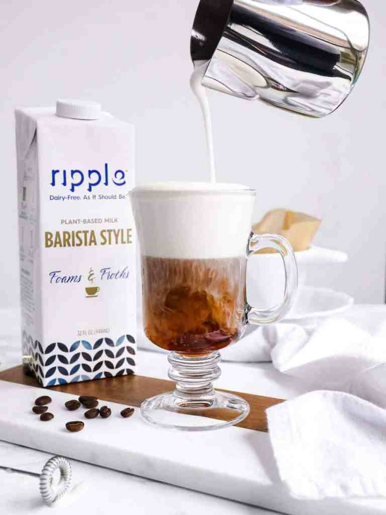 Ripple Barista Milk Review - The best foaming plant-based milk? ripple-milk-review-barista