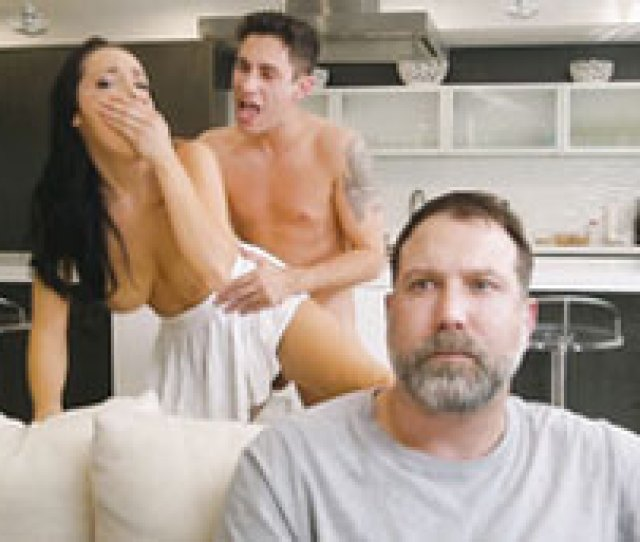 Cheating Wife Getting Fucked Standing Up By Husbands Brother
