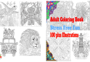 Adult Coloring Book: Stress Free Fun, 100 plus Illustrations
