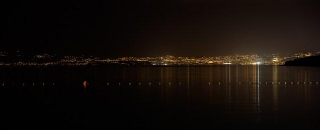 In Kroatien auf Krk - Böick auf Rijeka