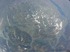 30021.4 m ü. M., -43.17°C: Die Schweiz aus der Satellitenperspektive