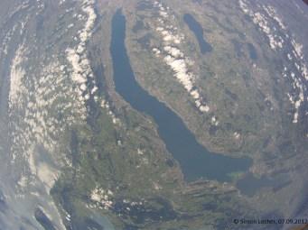 13191.8 m ü. M., -66.06°C: Der Zürichsee in seiner vollen Grösse