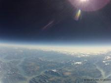 17680.6 m ü. M., -58.46°C: Reiseflughöhe einer Concorde, Blick in Richtung Graubünden