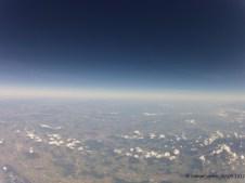 9231.4 m ü. M., -35.50°C: Sicht in Richtung Thurgau und Deutschland