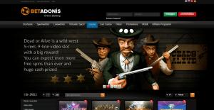 Online Casino von Betadonis