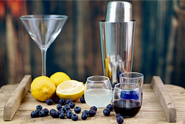 Everyone loves a good Cosmopolitan, but it's so much fun to make variations of the classic Cosmo. The Blueberry Cosmo is incredible! I can't wait to make these for my next Ladies Night! ~By Wet Whistle Drinks by Darla Bentley