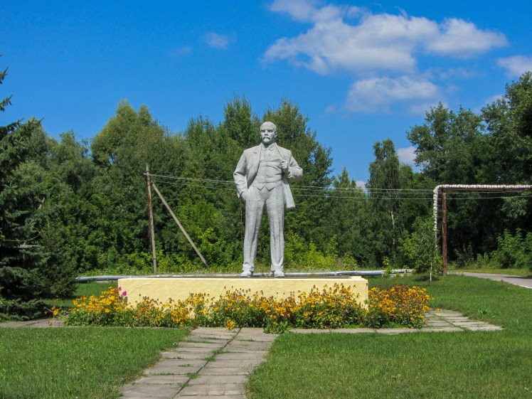 Chernobyl Exclusion Zone Statue of Lenin
