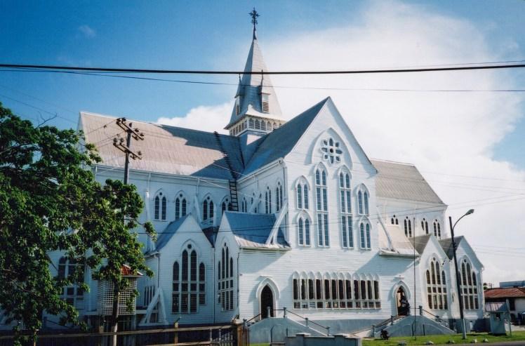 Church in Georgetown, Guyana.