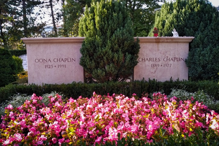 Charlie Chaplin's grave, Corsier-sur-Vevey