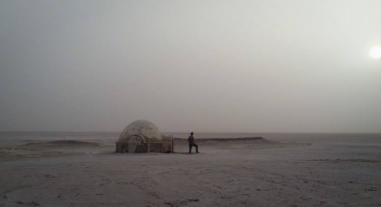 Tunisia Star Wars location - Lars Homestead (exterior) on Tatooine.