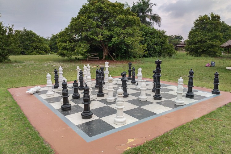 Chess is big in Nigeria.