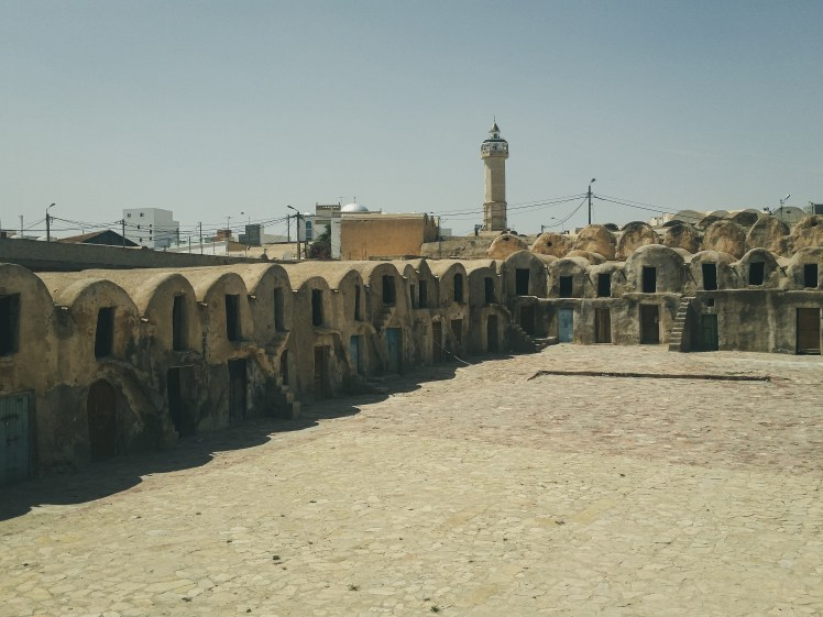 Ksar Medinine, film location for Slave  Quarters Row in Star Wars:  The Phantom Menace.