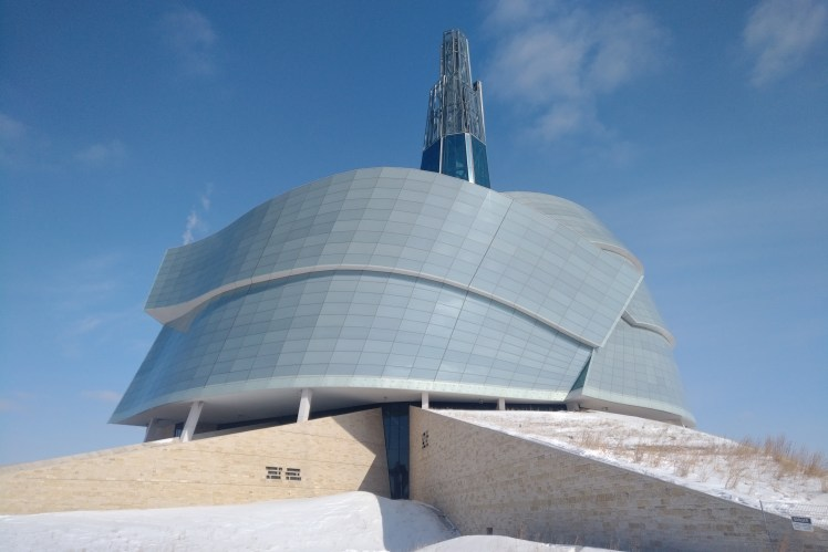 Travel Winnipeg and Manitoba - The Canadian Museum for Human Rights.