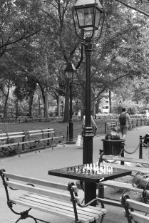 Washington Square Park - fancy some chess?