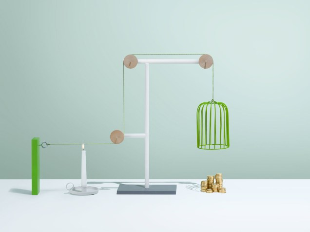 Rube Goldberg Green