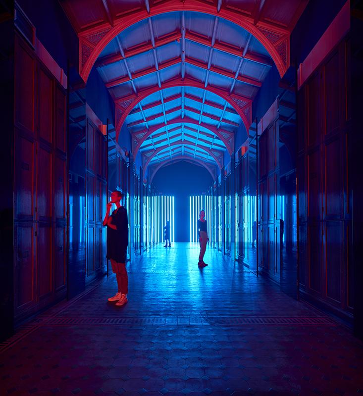 Flynn Talbot Reflection Room V&A London Design Week 2017
