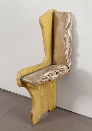 Julie Schenkelberg's sculpture at Asya Geisberg Gallery