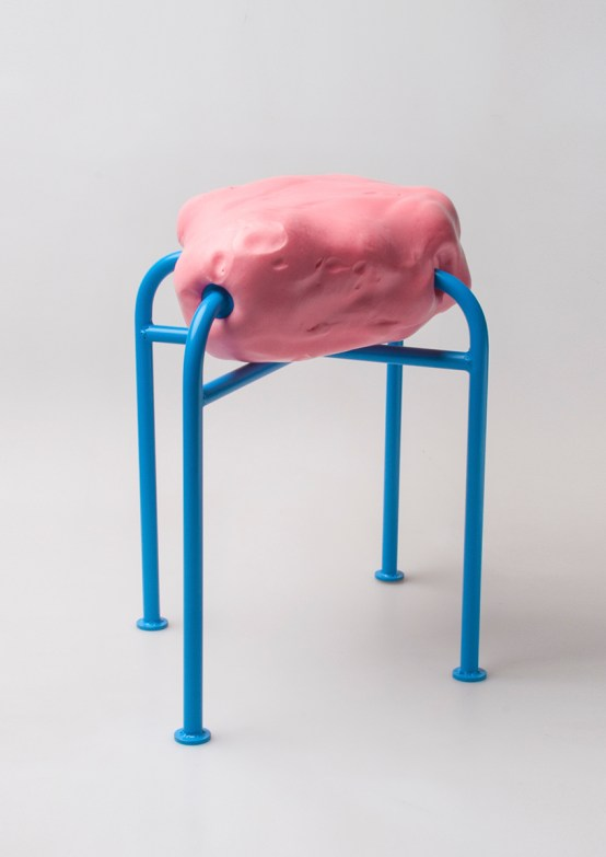 Moonscape Stool