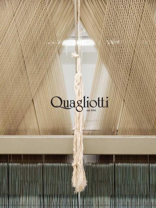 QUAGLIOTTI: LENZUOLA, TOVAGLIE, TESSUTI DELL'ARTIGIANALITA' ITALIANA