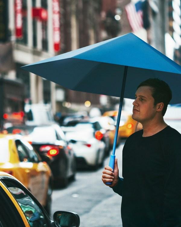 SA™, an origami umbrella