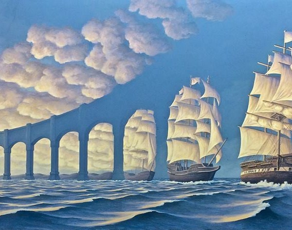 MAGIC REALISM – BY ROB GONSALVES