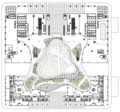 marina-one-ingenhoven-architects-landscape-urbanism-singapore_dezeen_plan-level-two