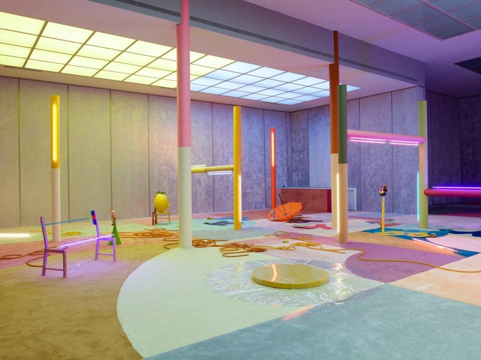 spatial installation art