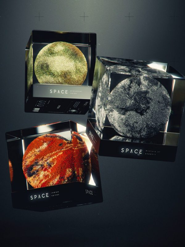 SPACE, spice packaging