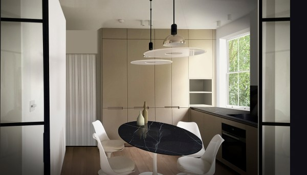FLAT 1, South Kensington SW7 London. T&V Architects