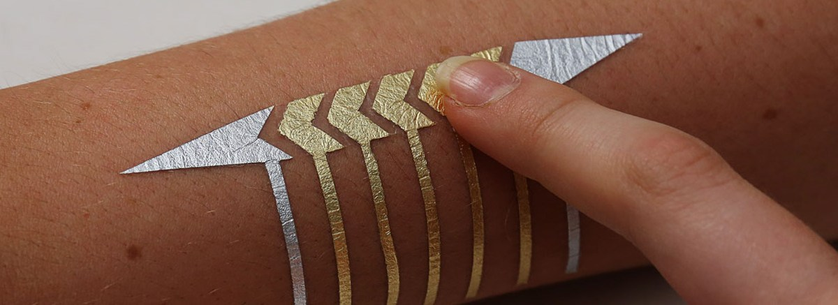 SMART TATTOOS, the future of wearable technologies