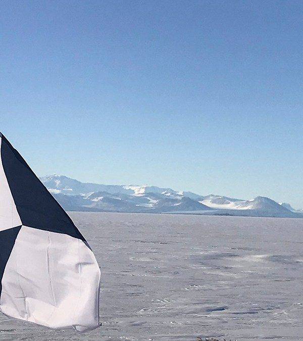 TRUE SOUTH, a new flag for Antarctica's conservation
