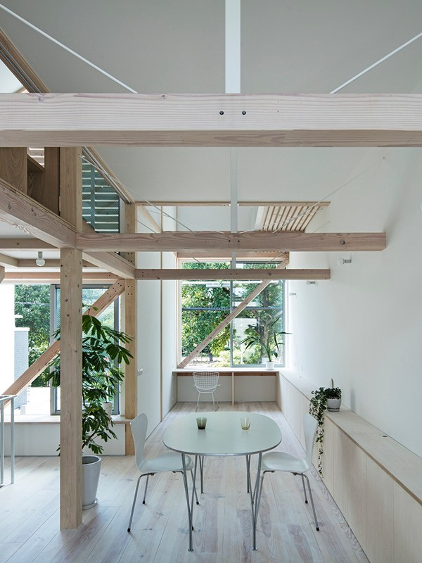 HOUSE FOR LIVING IN A PARK, Shuhei Goto Architects