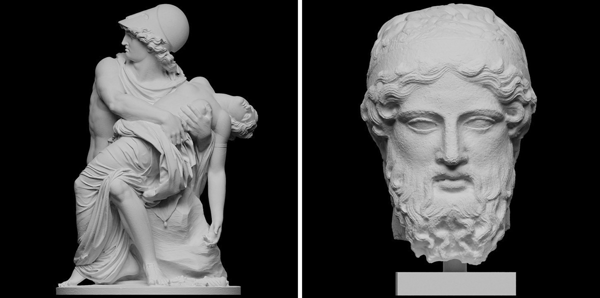 SCAN THE WORLD, to 3D print art at your home