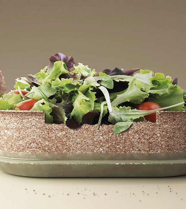 REUSE, the edible food container. Forest&Whale