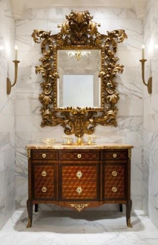 masterbath bagno bathroom classic classy bathub vasca da bagno parete decorativa decorative panel wevux scuola di interni franciNf artsdesign bagno freddo 5