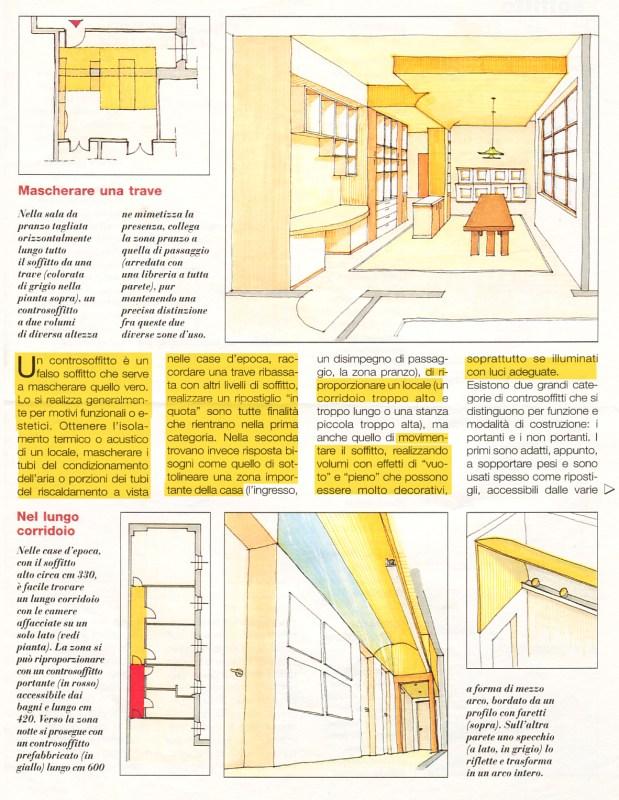 scuola di interni franciNF artsdesign controsoffitti e trucchi del mestiere soffitti decorativi soffitti funzionali 1