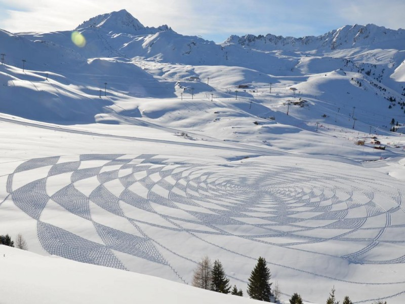 sb2 Sabbia vs Neve / Andres Amador e Simon Beck
