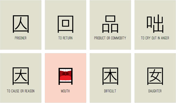 chineasy, ShaoLan, Illustrated inspiration, WEVUX