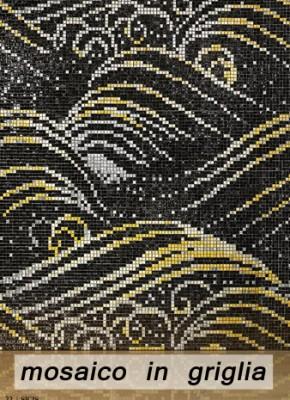 franci nf arts design wevux scuola di interni mosaic mosaico tecniche  mosaic in griglia grid