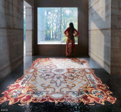franci nf arts design wevux scuola di interni mosaic mosaico tecniche tappeto marmo mosaico marmo decorativo