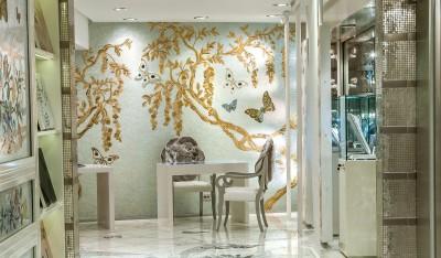 sicis franci nf arts design wevux grandi nomi per interni mosaic mosaico art factory 4-inside-showroom-mosaic-and-next-art-showroom-istanbul-sicis-jewelsoctober-2013