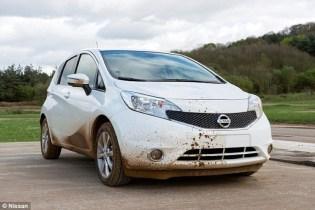 Nissan: duble paint test