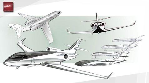Technicon IXION Windowless Jet Concept