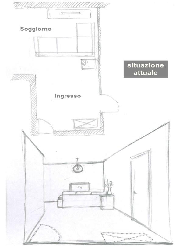 scuola di interni wevux progettazione ingresso accogliente spazioso progetto interior design franci nf arts design 02