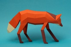 Papercraft-Animal-Figurines-10