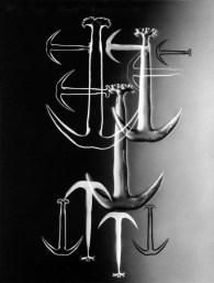 "Carl Strüwe, ""Anchor's Composition (Synapta)"" (1952)"